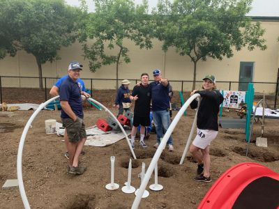 Thanks to all who helped us rebuild Playground Fantastico